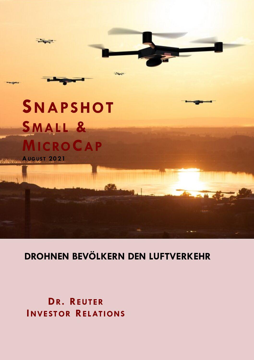 Snapshot 16.08.2021 Frequentis: Drohnen bevölkern den Luftverkehr